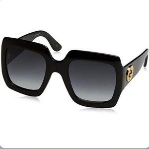 Gucci Oversized Square Sunglasses (GG0053S)